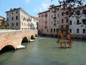 私の故郷、イタリア、トレヴィーゾ